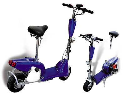 Gifts and gift stores for kids and children age 12 and under for Gas powered motorized scooter